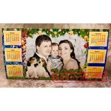 Календарь настольный домик А4