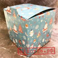 """Коробка для кружки """"Новогодняя"""""""